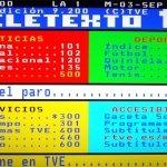El Teletexto celebra tres décadas dando el salto a Internet