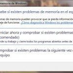 Testea la memoria de tu PC