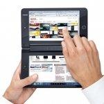 Toshiba presenta un tablet con dos pantallas y un miniportátil