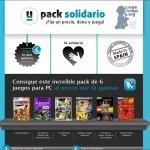 Juegos solidarios por 1€ con Juegaterapia y Tusjuegos.com