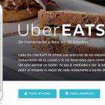 UberEATS, la comida en 10 minutos