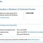 Windows 10 ya se puede instalar con Windows Update