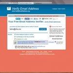 ¿Quieres saber si existe una dirección de e-mail?