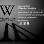 Reacciones al apagón digital de 10.000 webs por la Ley SOPA