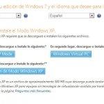Windows XP en Windows 7