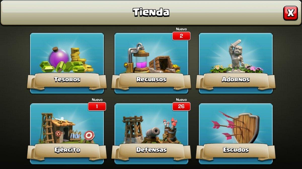Tienda Clash of Clans