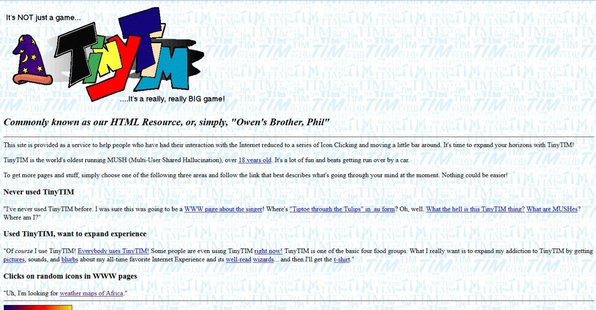 TinyTIM WWW Page