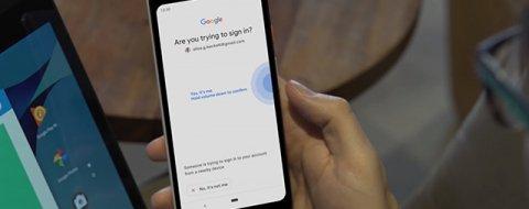 Cómo usar un móvil Android como llave de seguridad