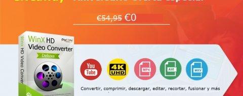 Descarga HD Video Converter gratis y ahorra 54,95 euros por tiempo limitado