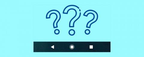 Qué es la barra de navegación en Android