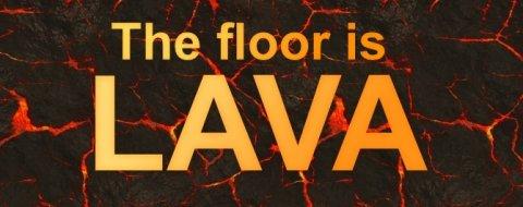 'The floor is lava': el último juego viral llega a tu móvil