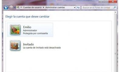 Activa la cuenta del administrador en Windows Vista y 7