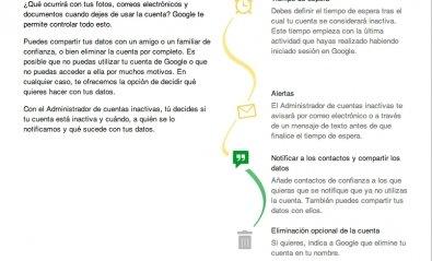 Decide qué hacer con tus datos de Google si desapareces