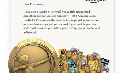 Amazon lanza su propia moneda, las Amazon Coins