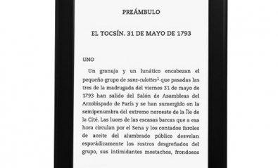 Amazon lanza en España su e-reader con retroiluminación