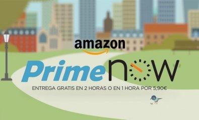 Amazon Prime Now: recibe tu pedido con entrega inmediata, nuevo servicio de Amazon
