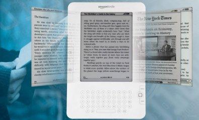 Amazon vende más libros electrónicos que de papel