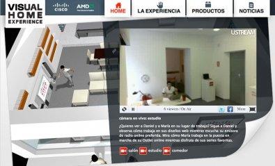 AMD y Cisco crean el Reality Showroom tecnológico «Visual Home Experience»
