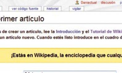 Anímate a ser wikipedista