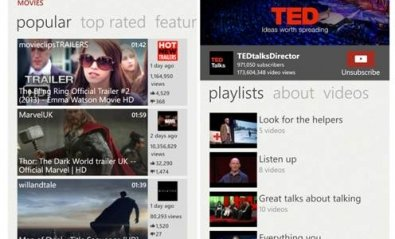 Microsoft modificará su app de YouTube para Windows Phone