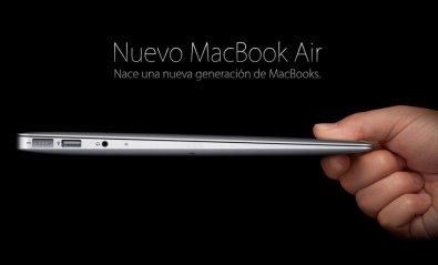 Apple actualiza el MacBook Air