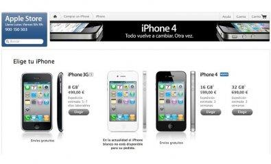 Apple comienza a vender el iPhone libre en España