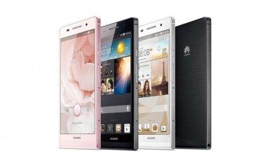 Huawei presenta Ascend P6, con solo 6,18 mm de grosor