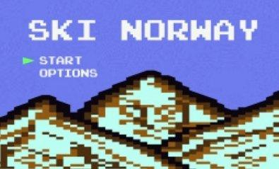 Un vídeo grabado con una GoPro, convertido en un juego retro de 8 bits