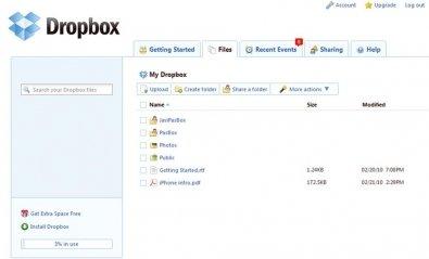 Dropbox presenta sus nuevos planes de almacenamiento