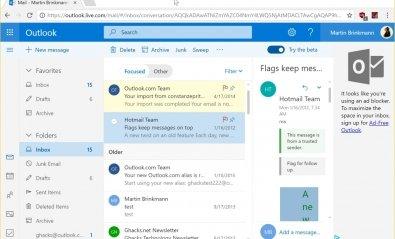 Outlook.com sigue mejorando
