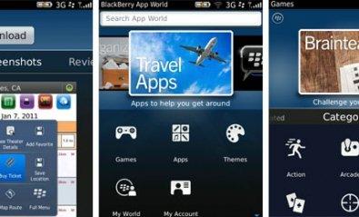 La versión 3.0 de BlackBerry App World ya está disponible