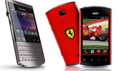 BlackBerry y Acer se ponen el mono de carreras