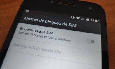Cómo quitar el PIN de la tarjeta SIM en Android