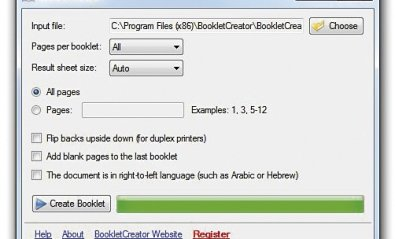 Imprime documentos PDF como si fuera un pequeño libro