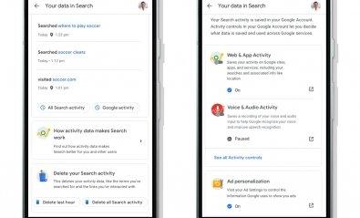 Google crea un acceso rápido para controlar tus datos de búsquedas