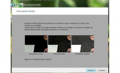 Calibrado de pantalla en Windows 7