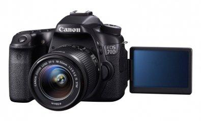 Canon lanza la potente y versátil cámara EOS 70D