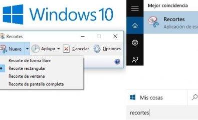 Haz una captura de pantalla rápida en Windows