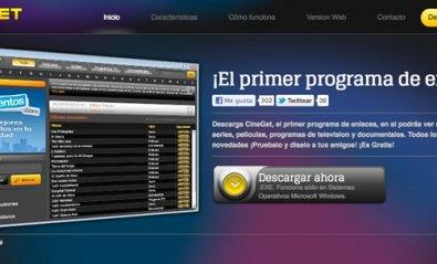 Nace CineGet.com, un software de enlaces español