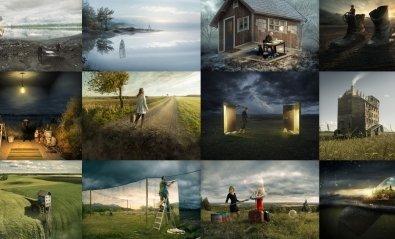 Las surrealistas fotografías de Erik Johansson, arte con Photoshop