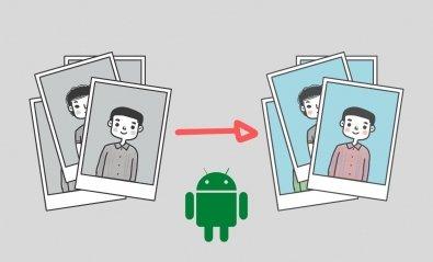 Cómo convertir fotos en blanco y negro a color desde Android