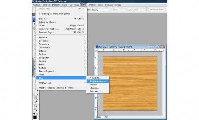 Cómo crear una textura de madera en Photoshop