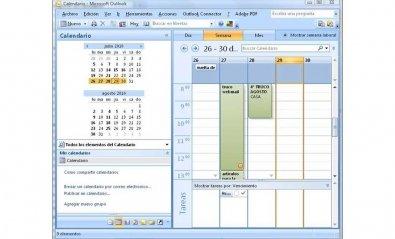 Comparte tu calendario de Outlook 97