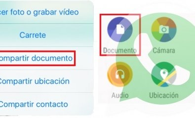 Ya es posible enviar documentos por WhatsApp