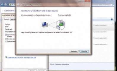 Guarda tu configuración WiFi en una USB gracias a Windows 7