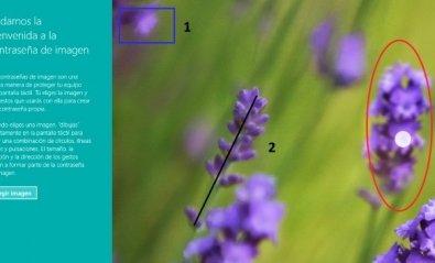 Utiliza una imagen como contraseña para acceder a Windows