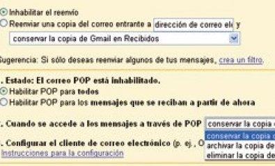 Copia de seguridad de Gmail