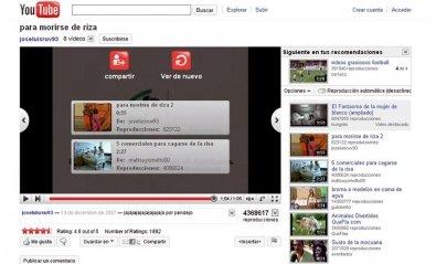 Devuelve la votación por «estrellas» a YouTube