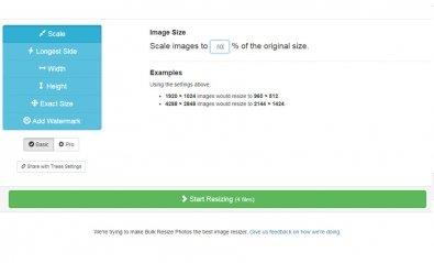 4 herramientas online para redimensionar varias imágenes a la vez
