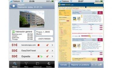 El comparador de precios de hoteles Trivago llega al iPhone